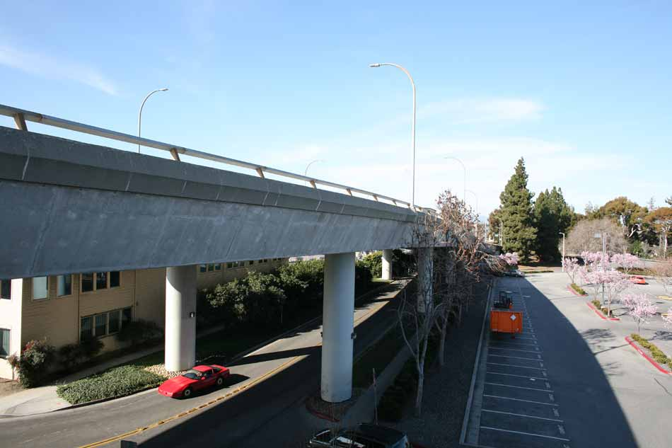 Wide View of Bridge